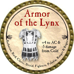 Armor of the Lynx - 2012 (Gold)