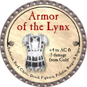 Armor of the Lynx - 2012 (Platinum) - C37