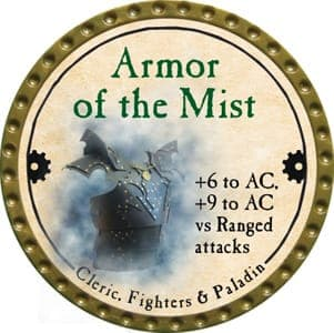 Armor of the Mist - 2013 (Gold)