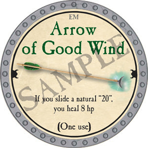 Arrow of Good Wind - 2018 (Platinum) - C37