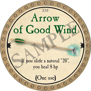 Arrow of Good Wind - 2018 (Gold)