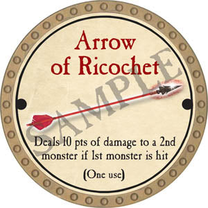 Arrow of Ricochet - 2017 (Gold)