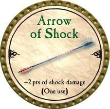 Arrow of Shock - 2010 (Gold) - C37