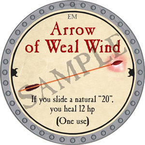 Arrow of Weal Wind - 2018 (Platinum) - C37