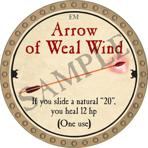 Arrow of Weal Wind - 2018 (Gold)