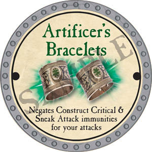 Artificer's Bracelets - 2017 (Platinum)