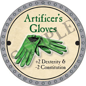 Artificer's Gloves - 2017 (Platinum) - C37
