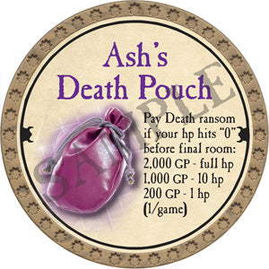 Ash's Death Pouch - 2018 (Gold)