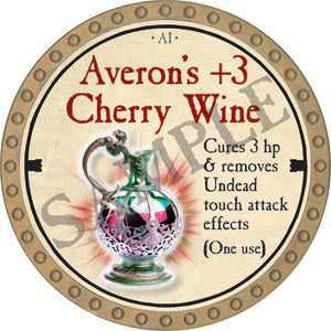 Averon's +3 Cherry Wine - 2020 (Gold)