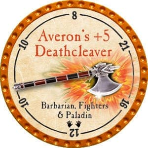 Averon's +5 Deathcleaver - 2015 (Orange) - C1
