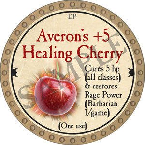 Averon's +5 Healing Cherry - 2018 (Gold) - C37