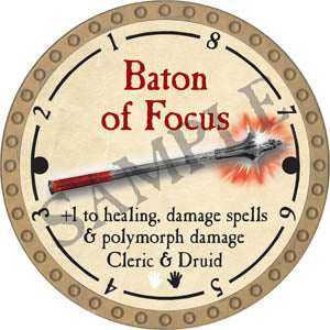 Baton of Focus - 2017 (Gold) - C37