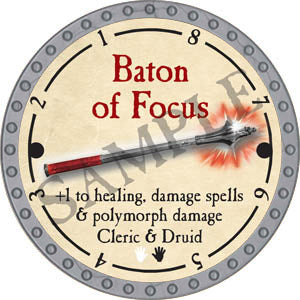 Baton of Focus - 2017 (Platinum) - C37