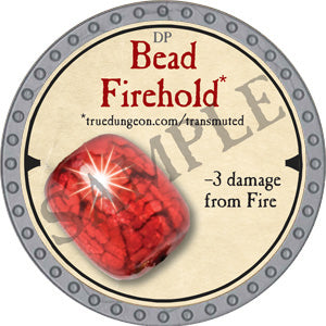 Bead Firehold - 2019 (Platinum) - C3