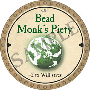 Bead Monk's Piety - 2019 (Gold) - C26