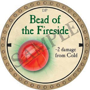 Bead of the Fireside - 2020 (Gold)