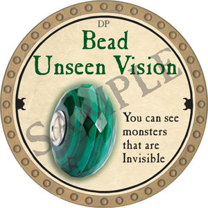 Bead Unseen Vision - 2018 (Gold) - C37