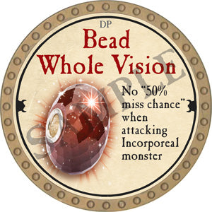 Bead Whole Vision - 2018 (Gold) - C37