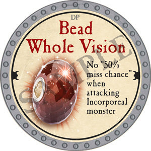 Bead Whole Vision - 2018 (Platinum) - C37