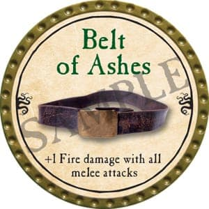 Belt of Ashes - 2016 (Gold)