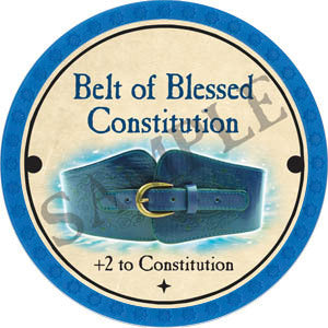 Belt of Blessed Constitution - 2017 (Light Blue) - C26