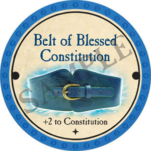Belt of Blessed Constitution - 2017 (Light Blue) - C3