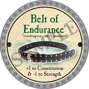 Belt of Endurance - 2017 (Platinum) - C37