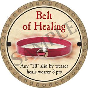 Belt of Healing - 2017 (Gold)
