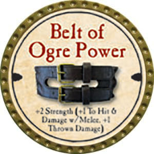 Belt of Ogre Power - 2014 (Gold) - C37