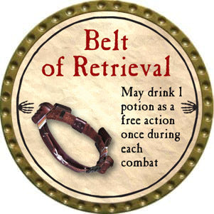 Belt of Retrieval - 2012 (Gold) - C37