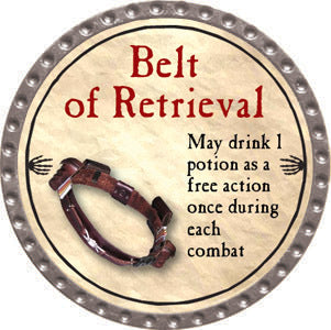 Belt of Retrieval - 2012 (Platinum) - C37