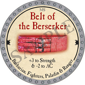 Belt of the Berserker - 2018 (Platinum)