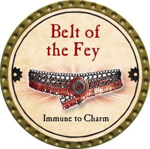 Belt of the Fey - 2013 (Gold)