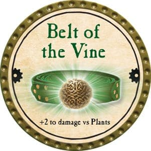 Belt of the Vine - 2013 (Gold)