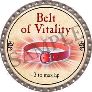 Belt of Vitality - 2016 (Platinum)