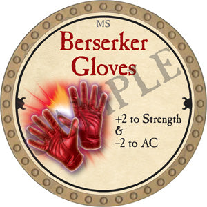 Berserker Gloves - 2018 (Gold) - C12