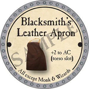Blacksmith's Leather Apron - 2017 (Platinum)