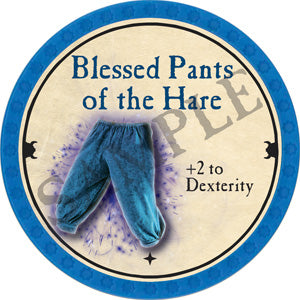Blessed Pants of the Hare - 2018 (Light Blue) - C3