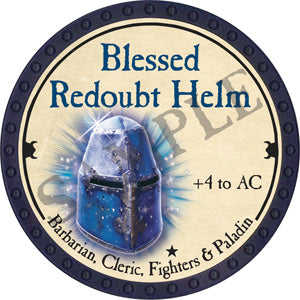 Blessed Redoubt Helm - 2018 (Blue) - C1