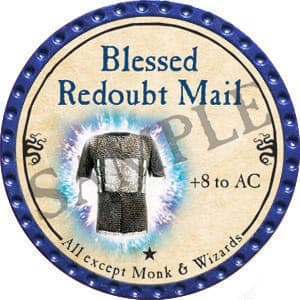 Blessed Redoubt Mail - 2016 (Blue) - C48