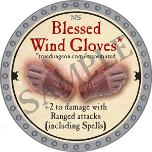 Blessed Wind Gloves - 2018 (Platinum)