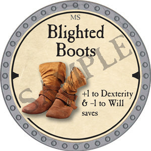 Blighted Boots - 2019 (Platinum)