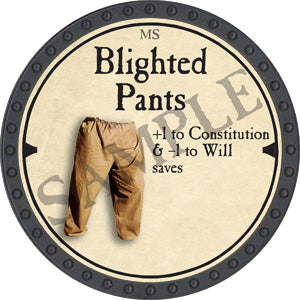 Blighted Pants - 2019 (Onyx) - C37