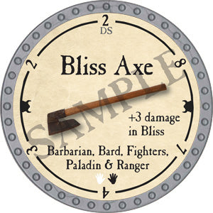 Bliss Axe - 2018 (Platinum)