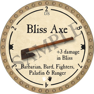Bliss Axe - 2018 (Gold)