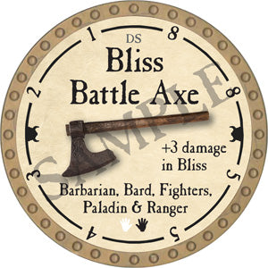 Bliss Battle Axe - 2018 (Gold)