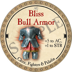 Bliss Bull Armor - 2018 (Gold)