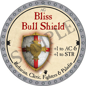 Bliss Bull Shield - 2018 (Platinum)