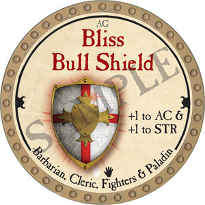 Bliss Bull Shield - 2018 (Gold)