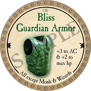 Bliss Guardian Armor - 2018 (Gold)